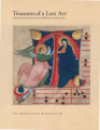 Treasures of a lost art : Italian manuscript painting of the Middle Ages and Renaissance / Pia...