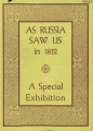 As Russia saw us in 1812 : a special exhibition August 1942