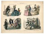 Theatrical satire 19th century, Plate 025
