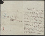 Charles Mayer letters to Elizabeth Mayer, 1842-1857
