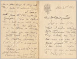 Letter from George Henry Boughton to Henry Gurdon Marquand, Dec. 21, 1885