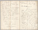 Letter from George Henry Boughton to Henry Gurdon Marquand, May 5, 1886