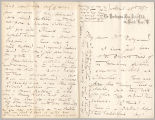 Letter from George Henry Boughton to Henry Gurdon Marquand, Apr. 28, 1887