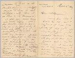 Letter from George Henry Boughton to Henry Gurdon Marquand, Mar. 2, 1889