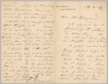Letter from George Henry Boughton to Henry Gurdon Marquand, Apr. [12], 1889
