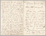 Letter from George Henry Boughton to Henry Gurdon Marquand, Nov. 9, 1889