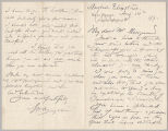 Letter from George Henry Boughton to Henry Gurdon Marquand, Aug. 14, 1890