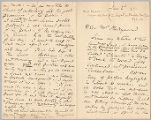 Letter from George Henry Boughton to Henry Gurdon Marquand, Jan. 2, 1891