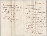 Letter from George Henry Boughton to Henry Gurdon Marquand, Mar. 23, 1891