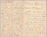 Letter from George Henry Boughton to Henry Gurdon Marquand, Feb. 25, 1892