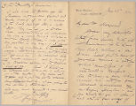 Letter from George Henry Boughton to Henry Gurdon Marquand, June 25, 1892