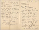 Letter from George Henry Boughton to Henry Gurdon Marquand, Jan. 18, 1894
