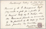 Letter from Martin H. Colnaghi to Henry Gurdon Marquand, Oct. 28, 1890