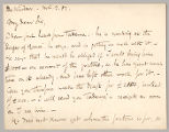 Letter from Charles W. Deschamps to Henry Gurdon Marquand, Mar. 2, 1882