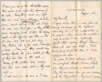 Letter from Charles W. Deschamps to Henry Gurdon Marquand, Aug. 1, 1882