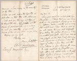 Letter from Charles W. Deschamps to Henry Gurdon Marquand, Sept. 28, 1882