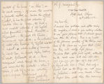 Letter from Charles W. Deschamps to Henry Gurdon Marquand, Oct. 20, 1882