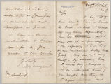 Letter from Henry Gurdon Marquand to Charles W. Deschamps, Nov. 9, [1882]