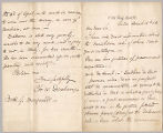 Letter from Charles W. Deschamps to Henry Gurdon Marquand, Mar. 16, 1883