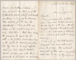 Letter from Charles W. Deschamps to Henry Gurdon Marquand, July 16, 1886