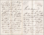 Letter from Frederic Leighton to Henry Gurdon Marquand, May 23, [no year given]