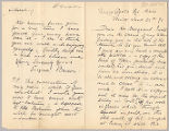 Letter from Eugene Benson to Henry Gurdon Marquand, June 21, 1891