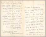 Letter from Edward Howland Blashfield to Henry Gurdon Marquand, Aug. 29, 1889