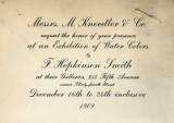 Messrs. M. Knoedler & Co. invite you to view a portrait of His Majesty Wilhelm 2nd and other...