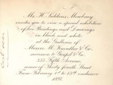 Mr. H. Siddons Mowbray invites you to view a special exhibition of his paintings and drawings in...