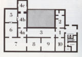 Floor Plan; Second floor, Islamic Art galleries