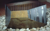 Arts of Japan in the Sackler Wing Galleries, view 3, Noguchi's  '  Water Stone '  (1987.222),...