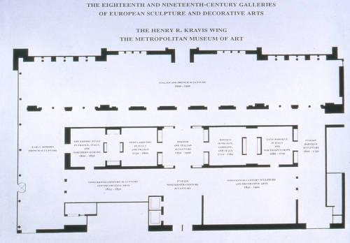 Floor Plan First Floor The Henry R Kravis Wing Metropolitan Museum Of Art Images Digital Collections From The Metropolitan Museum Of Art Libraries